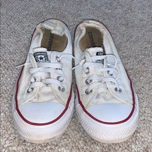 slip on white converse